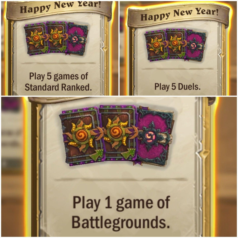 Gra karciana Hearthstone 9 pakietów kart za darmo na chiński Nowy Rok. Android, IOS, PC