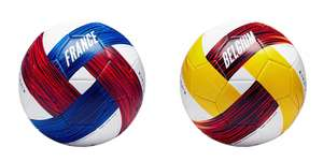 Decathlon, Piłka do piłki nożnej Francja albo Belgia rozm. 5
