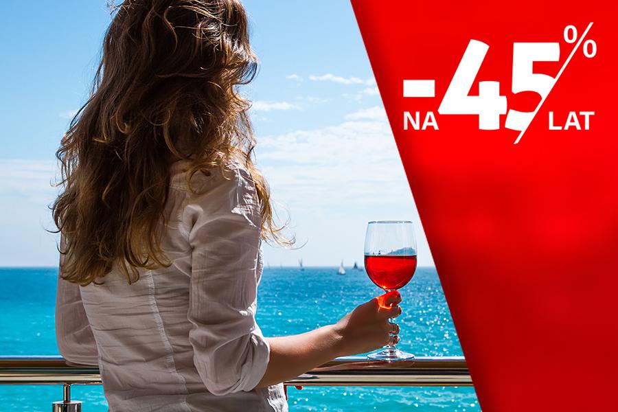 Oferta specjalna: Relaks na promie dla max 4 osób -45%