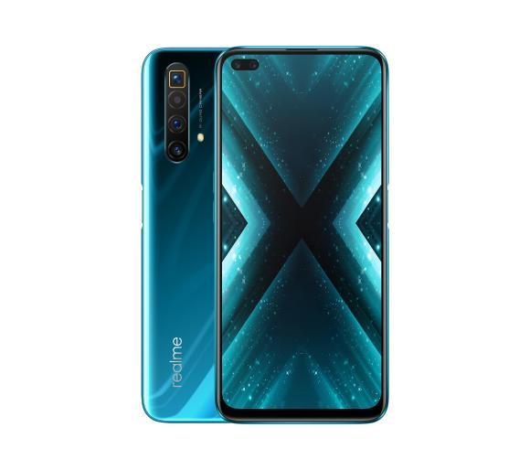 Smartfon Realme X3 SuperZoom 12/256 GB (niebieski). Snap 855+, Ekran 120Hz, 30W, Zoom optyczny 5x, cyfrowy 60x