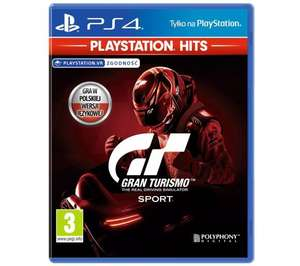 Gran Turismo Sport 34,99 zł/ Shadow of the Colossus 49 zł/Tom Clancy's Ghost Recon Breakpoint 49 zł - PlayStation Hits PS4 / PS5