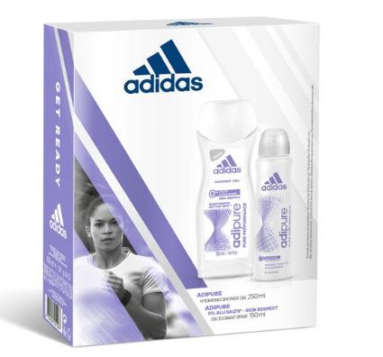 Zestaw Adidas damski, Deo 150ml + Żel 250ml