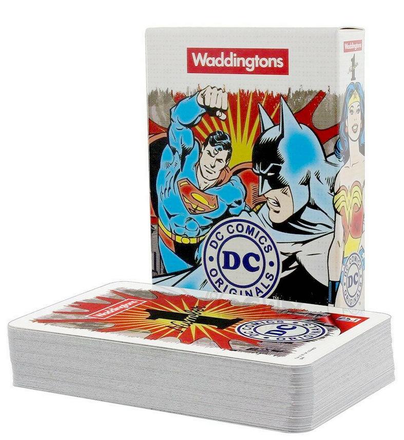 Karty do gry Waddingtons DC Superheroes Retro @Empik / Winning Moves