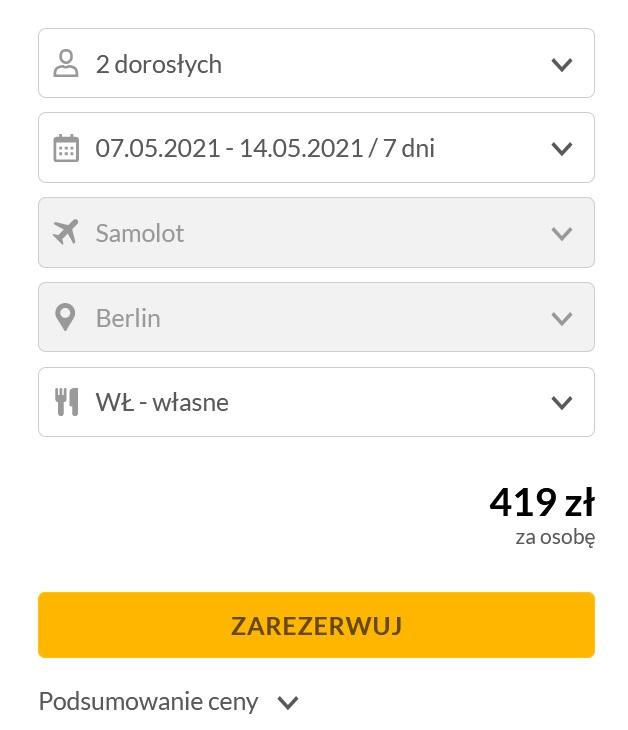 Wylot z Biurem podrózy na Rodos na 7 dni 07.05-14.05.2021 Hotel i Samolot za 419 zł