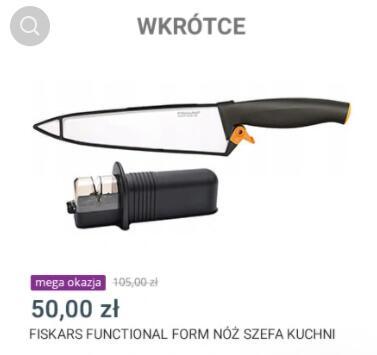 Fiskars Functional Form Nóż szefa kuchni