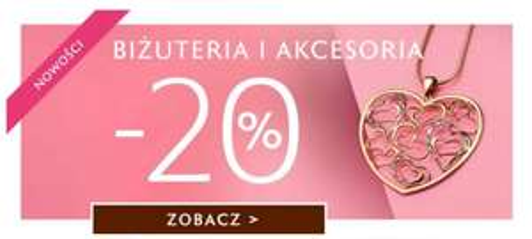 -20% na biżuterię i akcesoria w W.Kruk