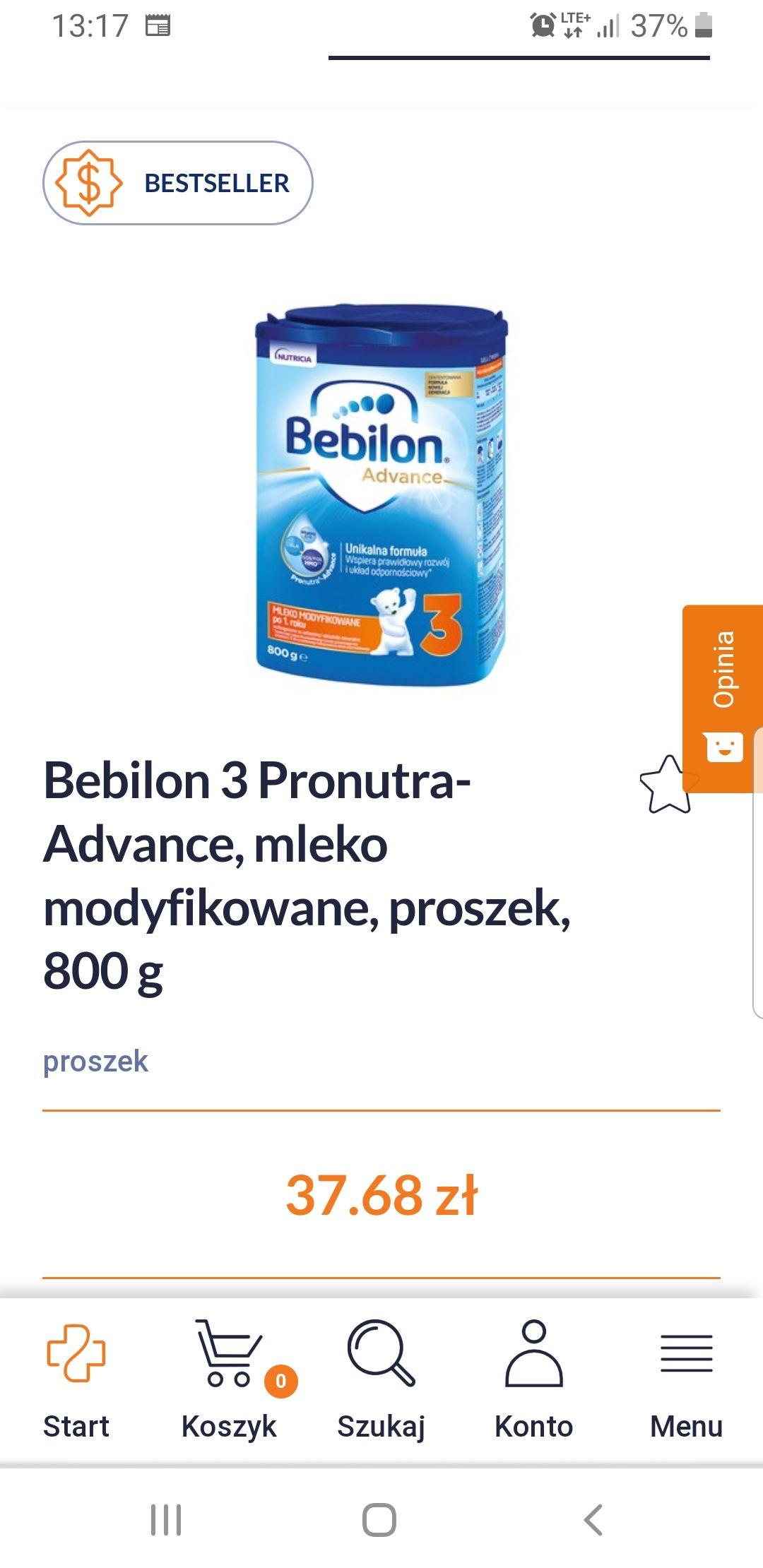Mleko modyfikowane Bebilon 3