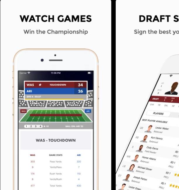 Pocket GM 20: Football Manager - iOS