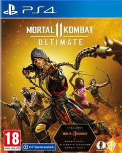PS4/PS5 - Mortal Kombat 11 Ultimate (Kod PSN) - EU