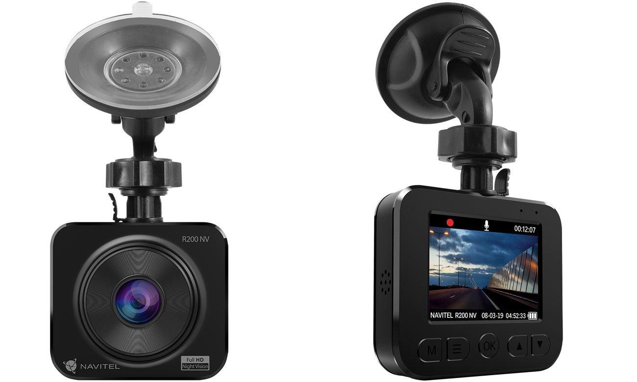 Kamera samochodowa, wideorejestrator Navitel R200 night vision