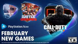 Playstation Now luty 2021, Detroit: Become Human, Call of Duty: Black Ops III, Darksiders Genesis, Little Nightmares i inne, PS4 PS5