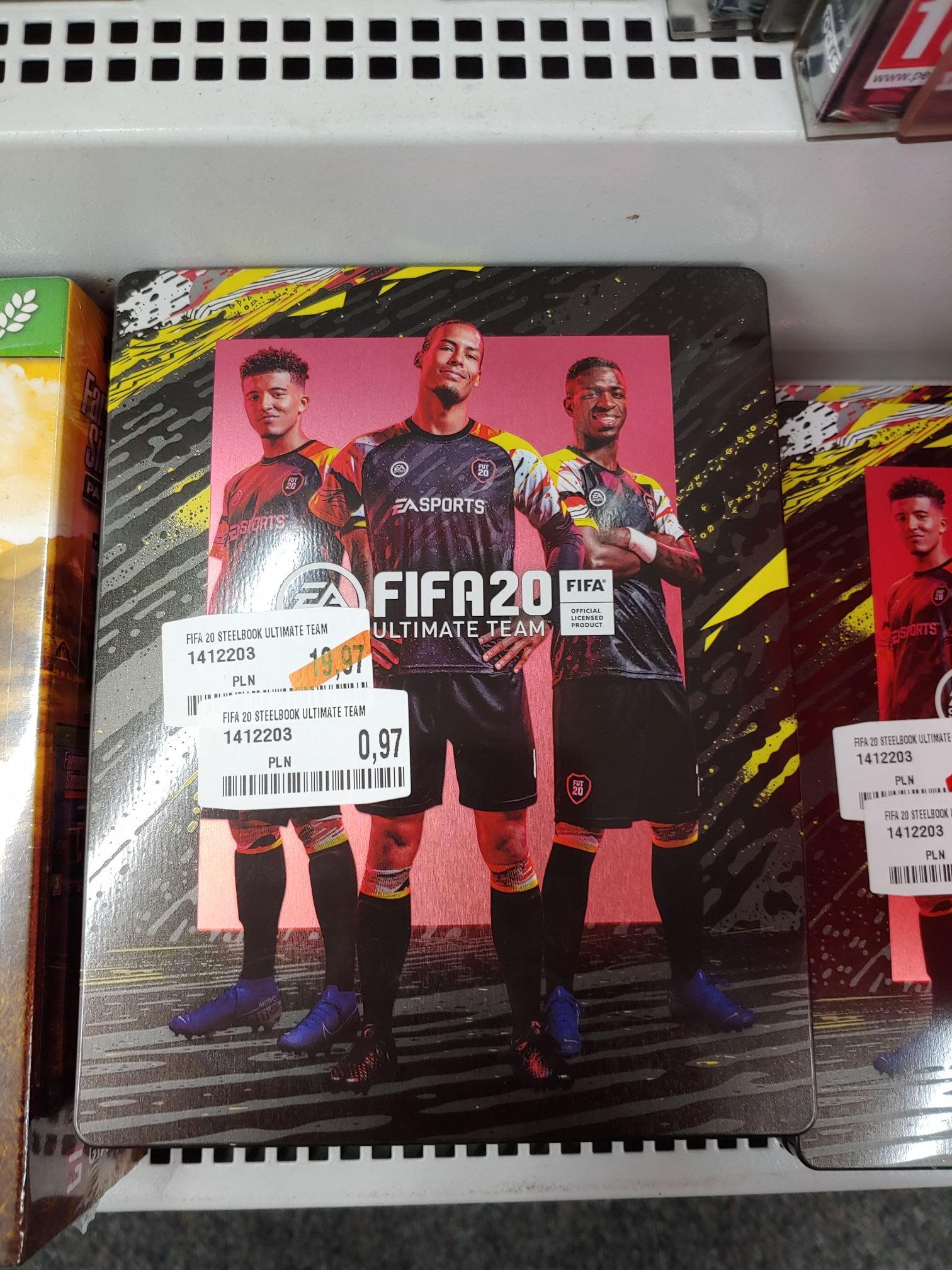 FIFA 20 ULTIMATE steelbook MM dominikańska