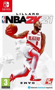 NBA 2K21 Nintendo Switch - wersja pudełkowa