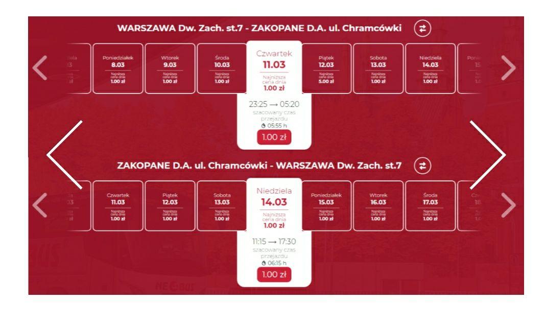NEOBUS: marcowa pula tanich biletów. Zakopane, Polańczyk, Solina od 1 PLN