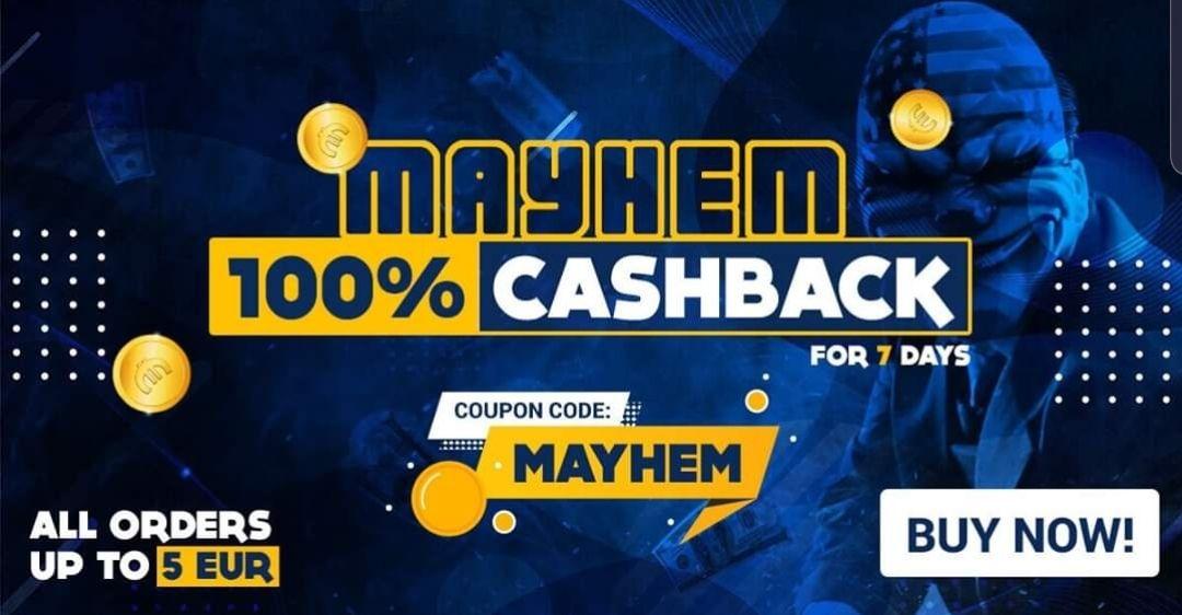 Cashback na zakup gier w Gamivo do 5€