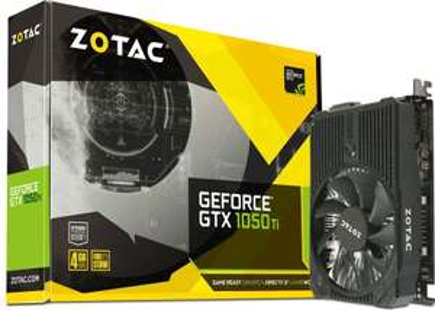 Zotac GeForce GTX 1050Ti Mini 4GB GDDR5