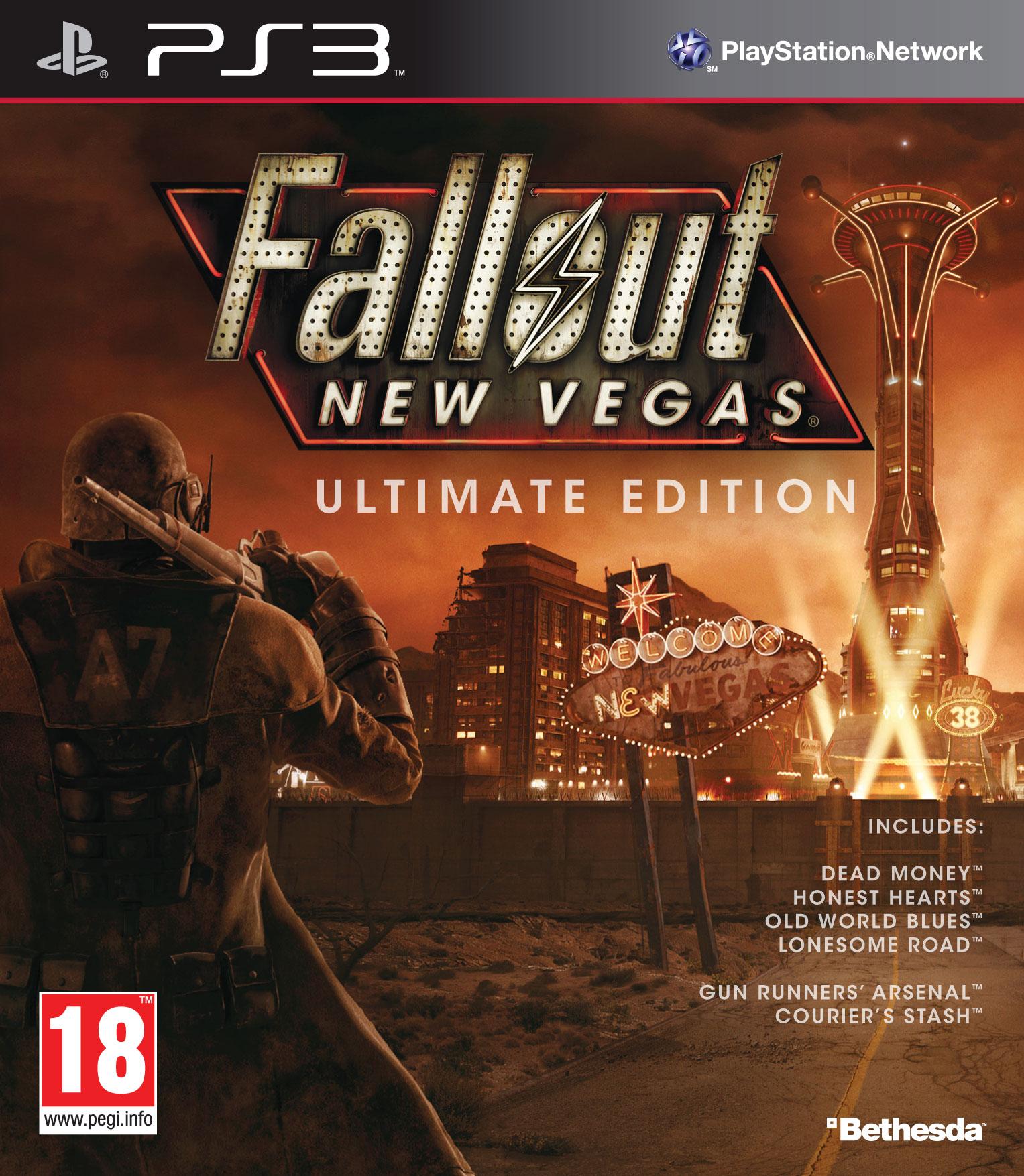 Okazje na PS3: Fallout New Vegas: Ultimate Edition - 44,90zł; Beyond Dwie Dusze PL / ANG + DLC - 68.90 zł @ Ultima