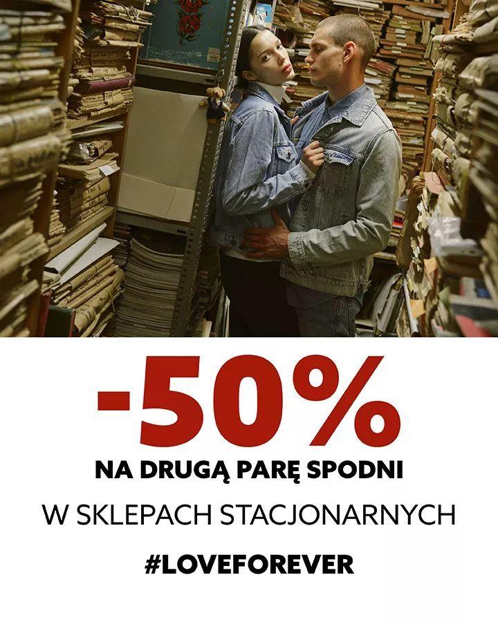 BIG STAR -50% na drugą parę spodni w sklepach stacjonarnych