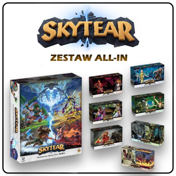 Skytear gra planszowa typu moba + wszystkie dodatki