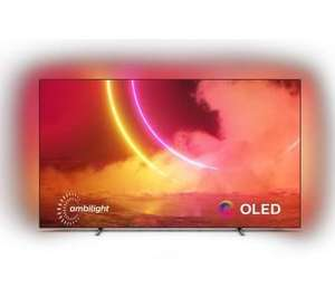 Telewizor Philips 65oled805 + Gofrownica Dezal plus 301.4