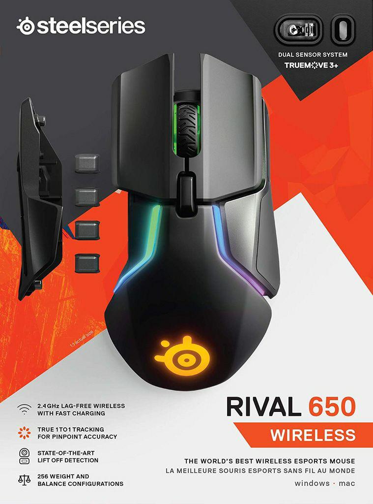 Mysz SteelSeries Rival 650 Wireless