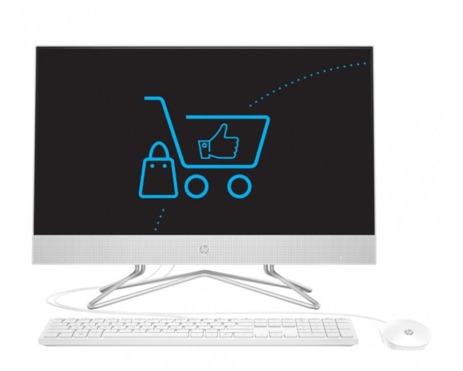 HP 24 AiO J4025/4GB/256 IPS White