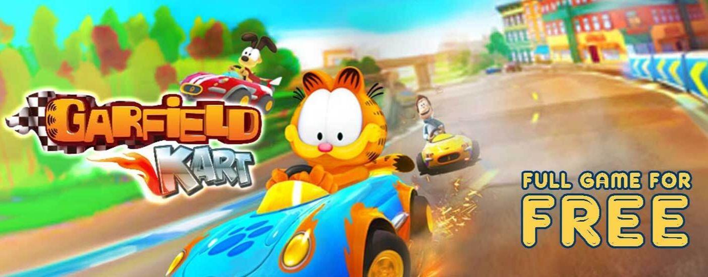 Garfield Kart (PC) za darmo w Indie Gala