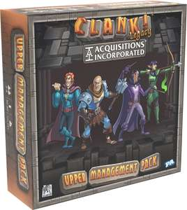 Gra planszowa Clank! (Brzdęk!) Legacy: Acquisitions Incorporated - Upper Management Pack