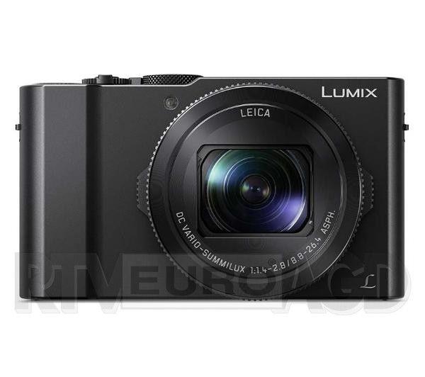 Aparat cyfrowy kompaktowy, Panasonic Lumix DMC-LX15 (czarny), najlepsza cena ever (wg Ceneo), online się skończyły