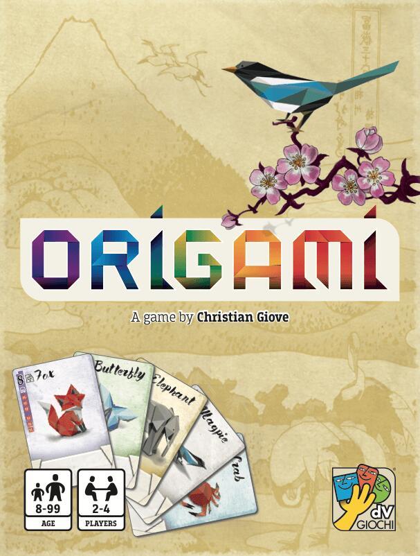 Gra karciana - Origami (BGG 6.7) @Livro / Gra towarzyska, logiczna