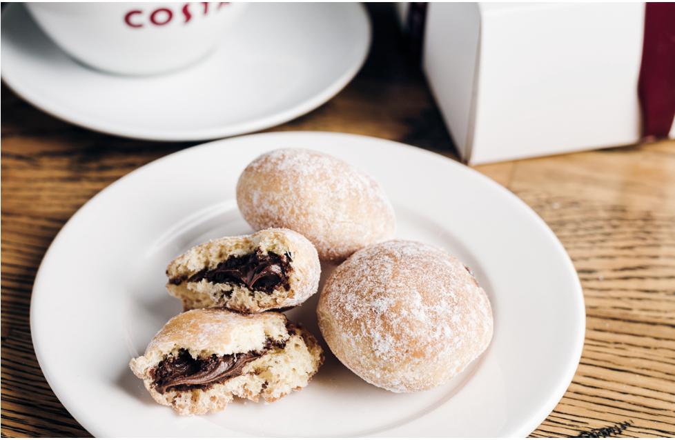 Costa Coffee darmowy pączek do dowolnego napoju
