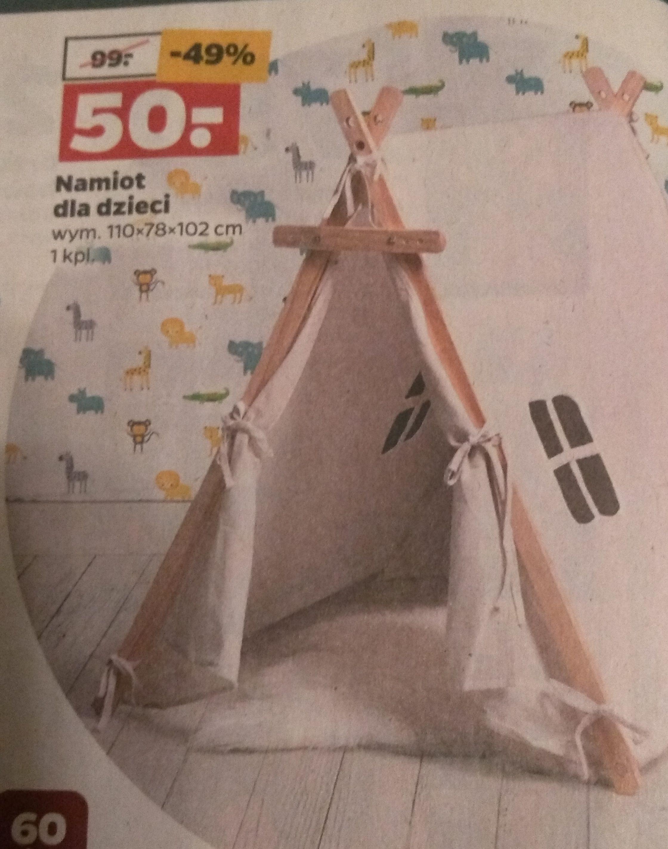 Namiot dla dzieci. Netto