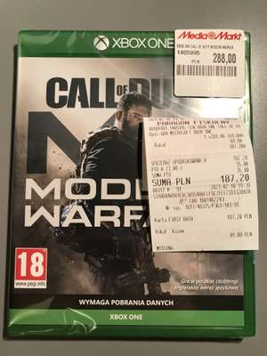 Call of Duty Modern Warfare Xbox One w Media Markt