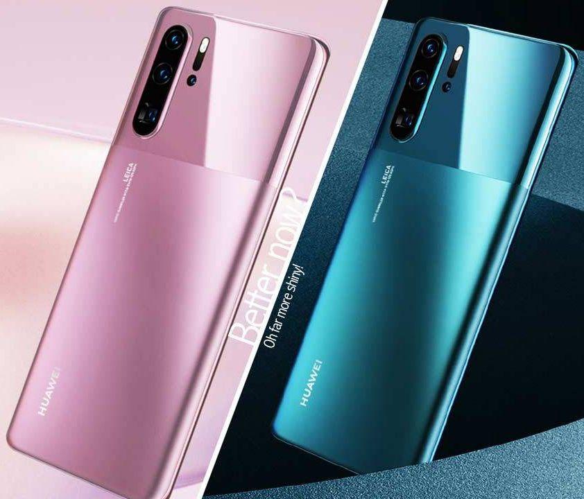 Huawei P30 Pro 128/8(!) rec. - w tym dwukolorowe MATOWE + P20 Pro i P20