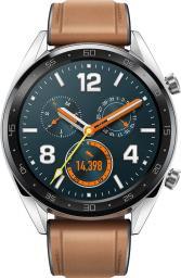 Smartwatch Huawei Watch GT Classic Silver Brązowy / morele.net