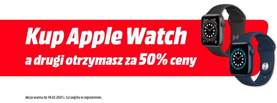 Drugi Apple Watch za 50% ceny @mediamarkt