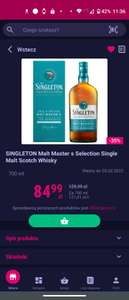 Whisky SINGLETON Malt Master s Selection Single Malt Scotch Whisky