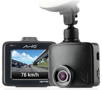 Wideorejestrator Mio MiVue 335 GPS - stacjonarnie, może być na ekspozycji