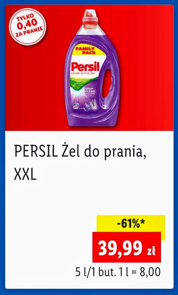 Persil Żel do prania XXL 5l (8zł/litr) do kolorów lub uniwersalny w Lidl