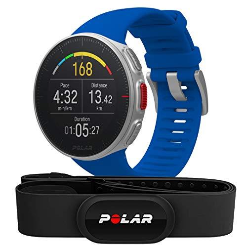 Zegarek sportowy Polar vantage v z pasem piersiowym do mierzenia tętna h10 za 284,66 euro z Amazon