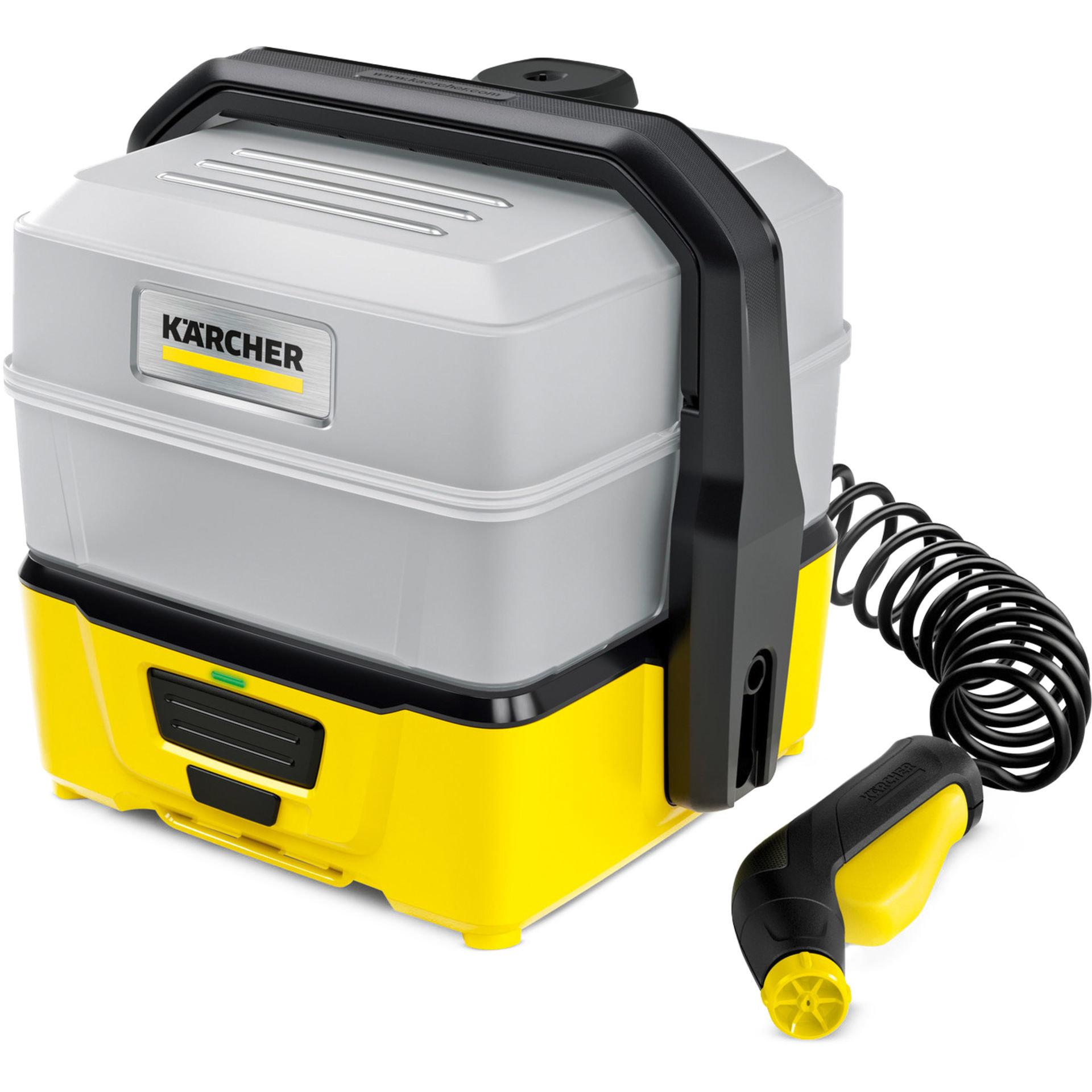 Myjka niskociśnieniowa terenowa KARCHER OC 3 Plus 1.680-030.0, poręczna, na akumulator