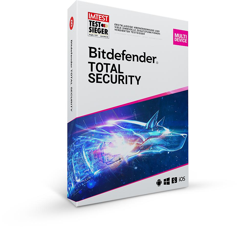 Bitdefender Total Security 180 dni za darmo