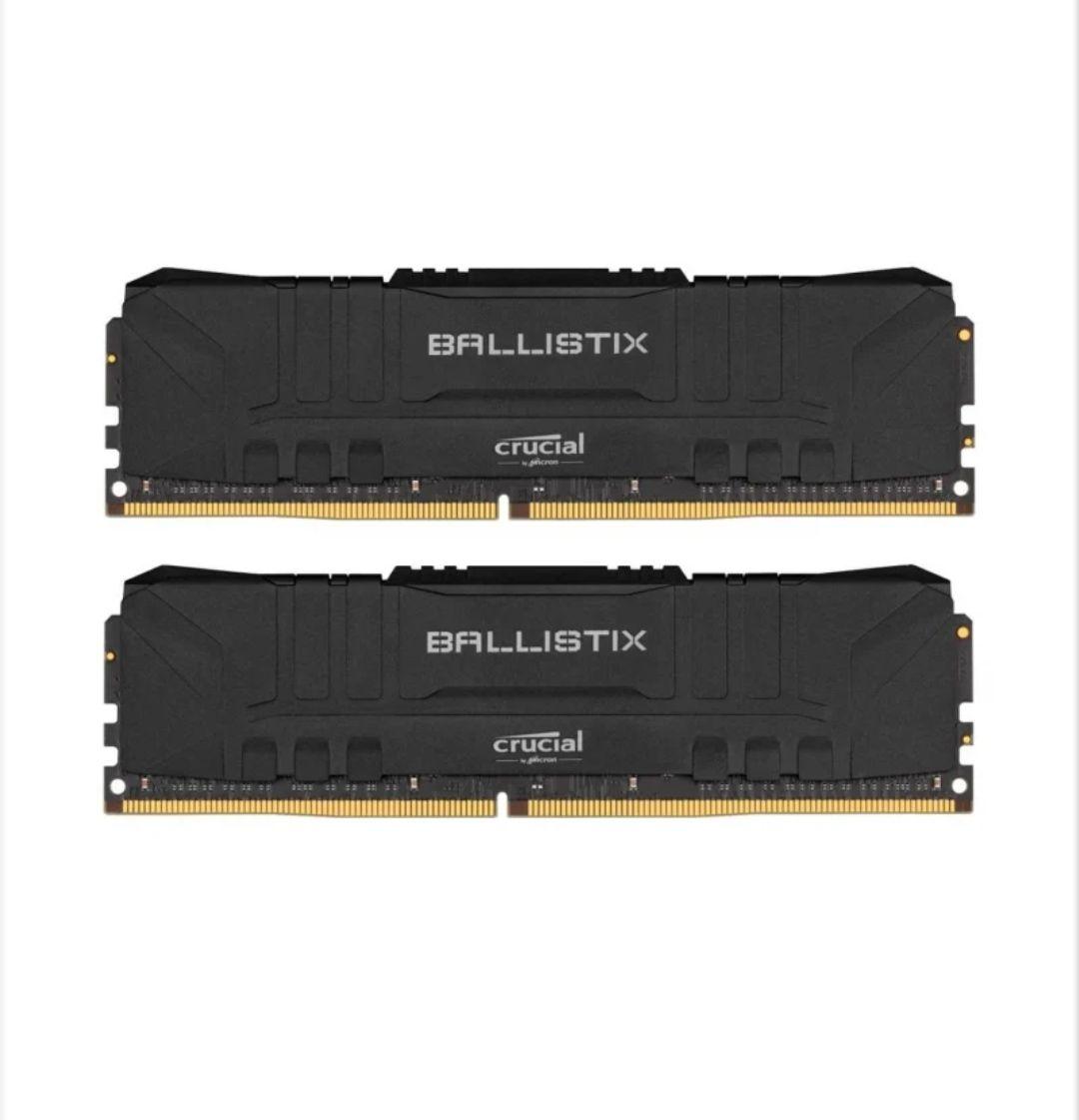 Pamięć RAM Crucial 16GB (2x8GB) 3200MHz CL16 Ballistix Black