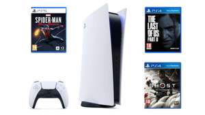 PlayStation 5 + The Last of Us Part II + GOT + Spider-Man