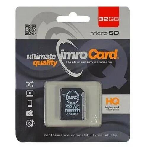 Promocja na karty pamięci, pendrive'y i dyski (np IMRO MicroSD 32GB za 11.99zł) @ Media Expert