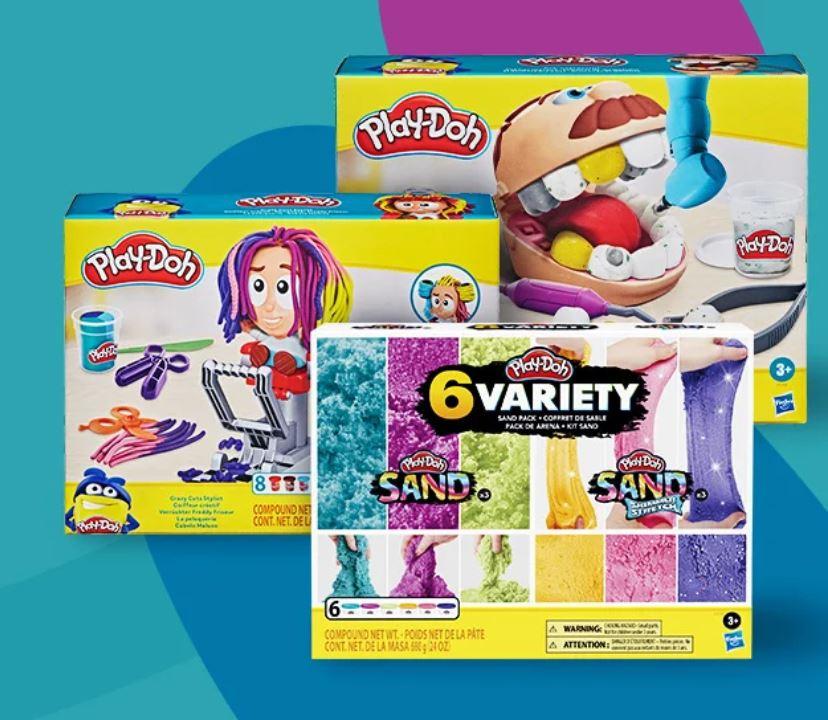 Wszystkie zestawy Play-Doh z rabatem 20% w al.to