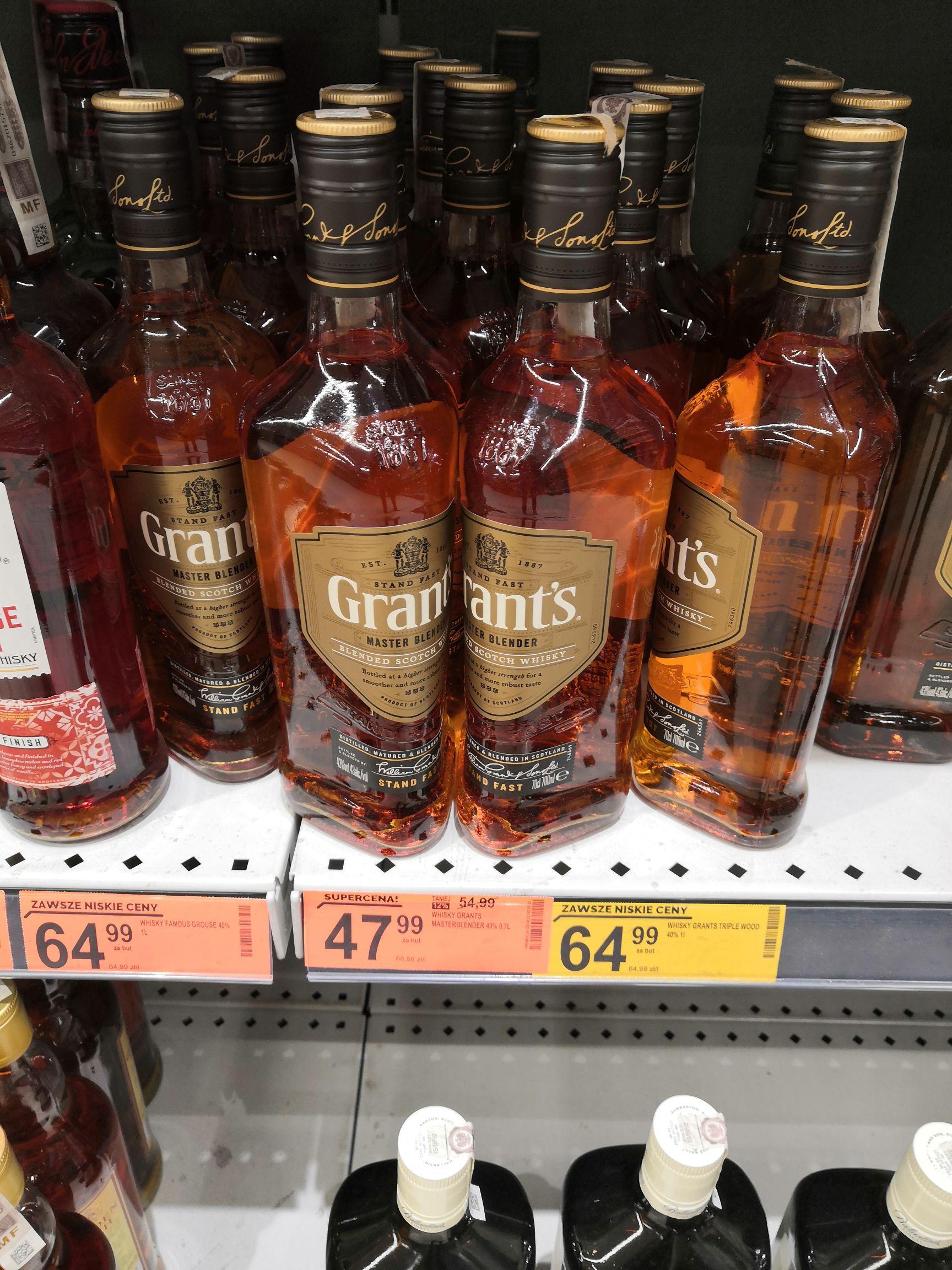Whisky Grant's Master Blender 700ml Biedronka