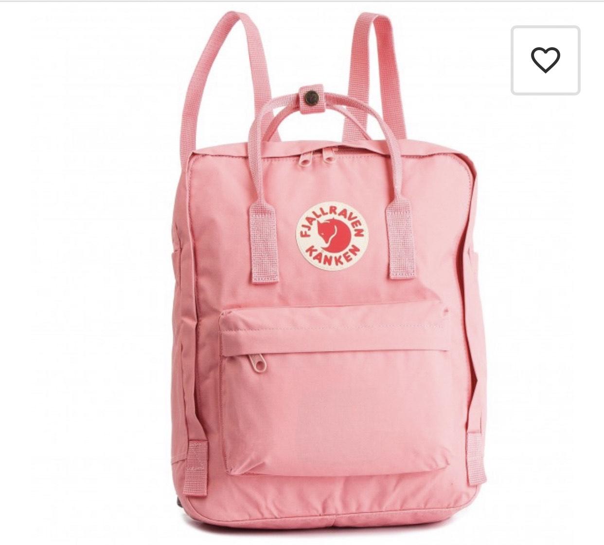Szary i różowy plecak Kanken na eobuwie