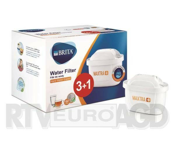 Filtry do wody Brita Hard Water 3+1szt (14,24zł /szt)