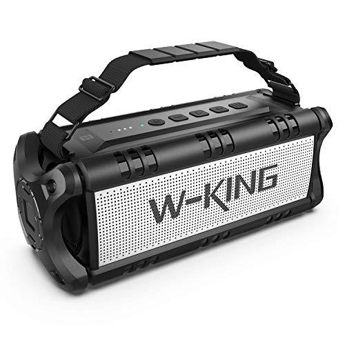 W-KING 50 W głośnik Bluetooth, powerbank 8000 mAh, USB C, NFC